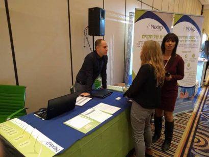 חברת Nextep בכנס שנתי של האגודה הישראלית לאיכות ברפואה